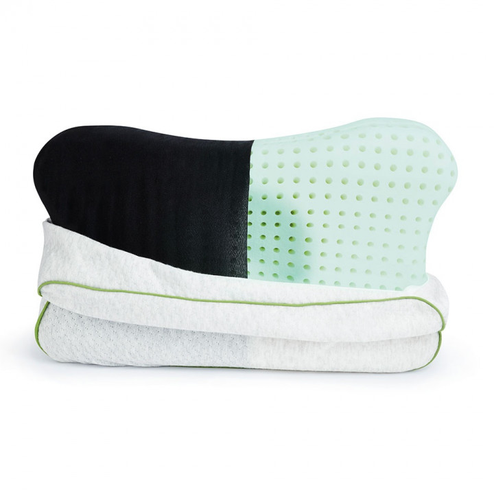 BLACKROLL Recovery Pillow - Blue/white