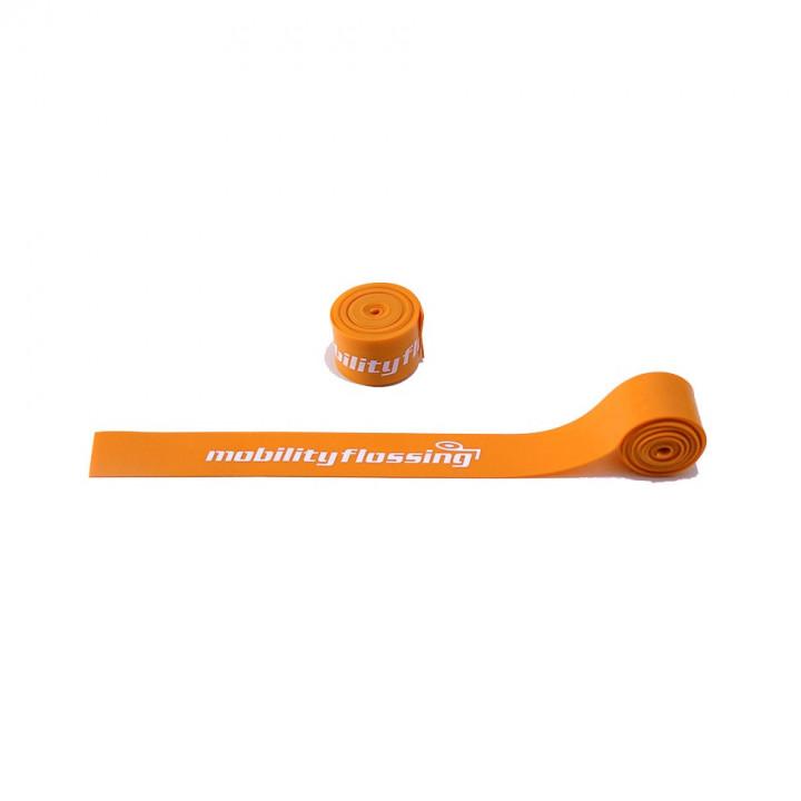 Mobility Flossing Flossband Mini - Orange - 1 m x 2.5 cm x 1 mm (single)