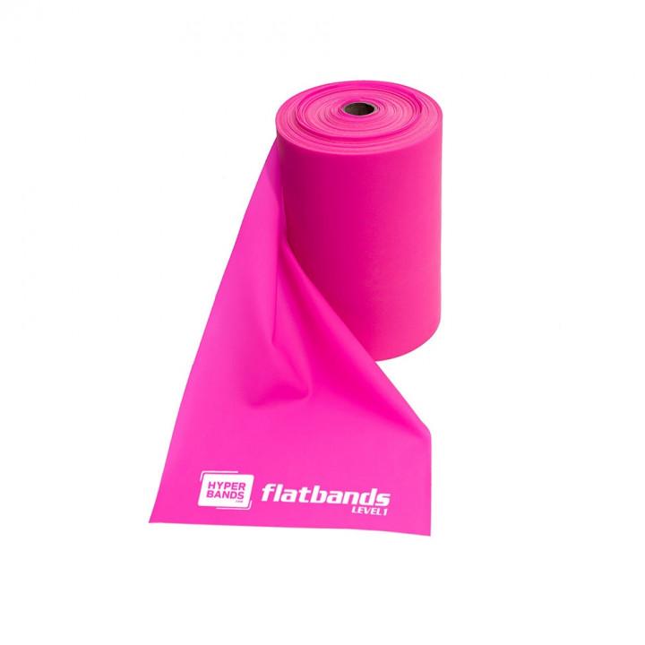 Hyperbands Flatbands - Light (Pink) - 25 m (Roll)