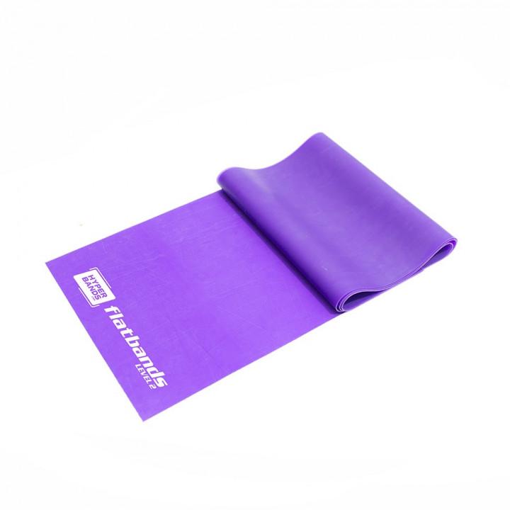 Hyperbands Flatbands - Medium (Purple) - 2 m (Piece)