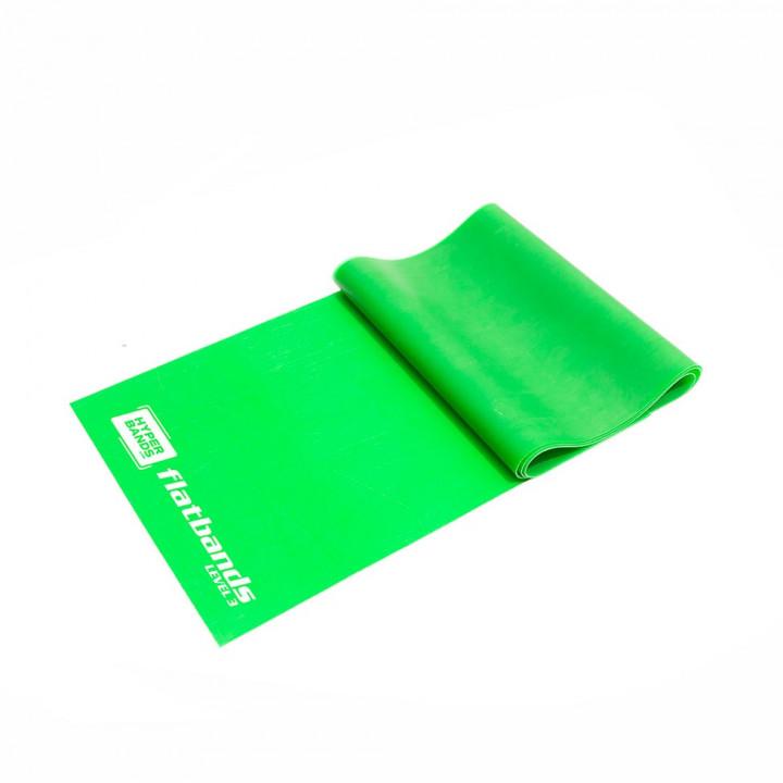 Hyperbands Flatbands - Heavy (Green) - 2 m (Piece)