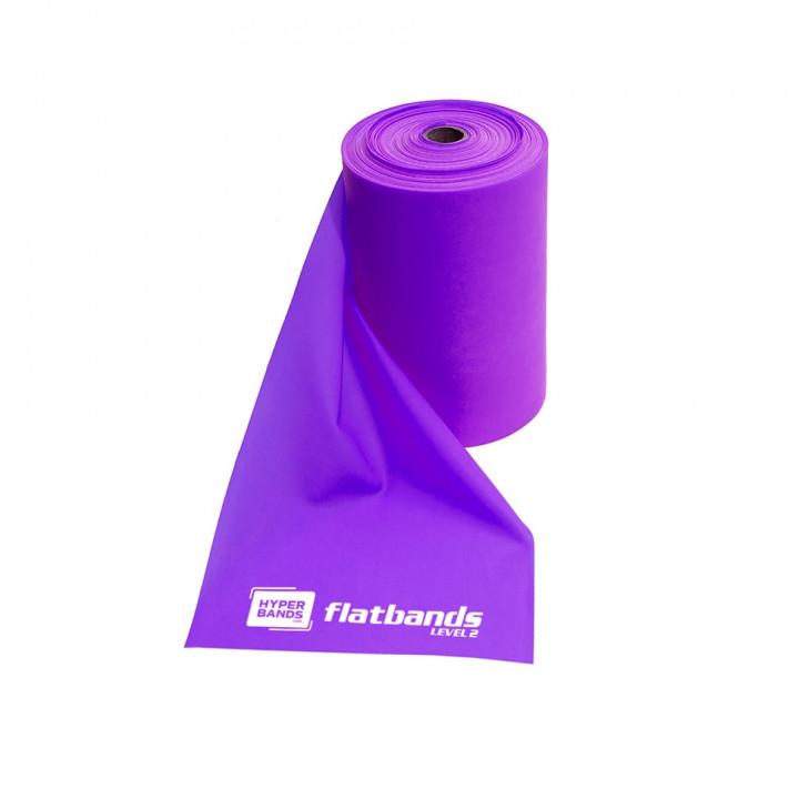 Hyperbands Flatbands - Medium (Purple) - 25 m (Roll)