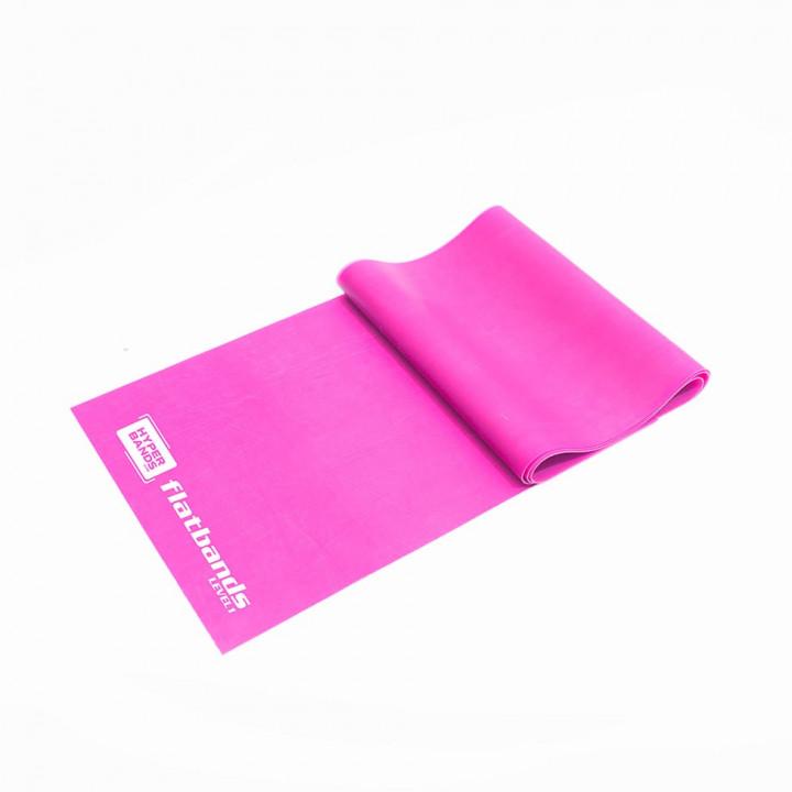 Hyperbands Flatbands - Light (Pink) - 2 m (Piece)