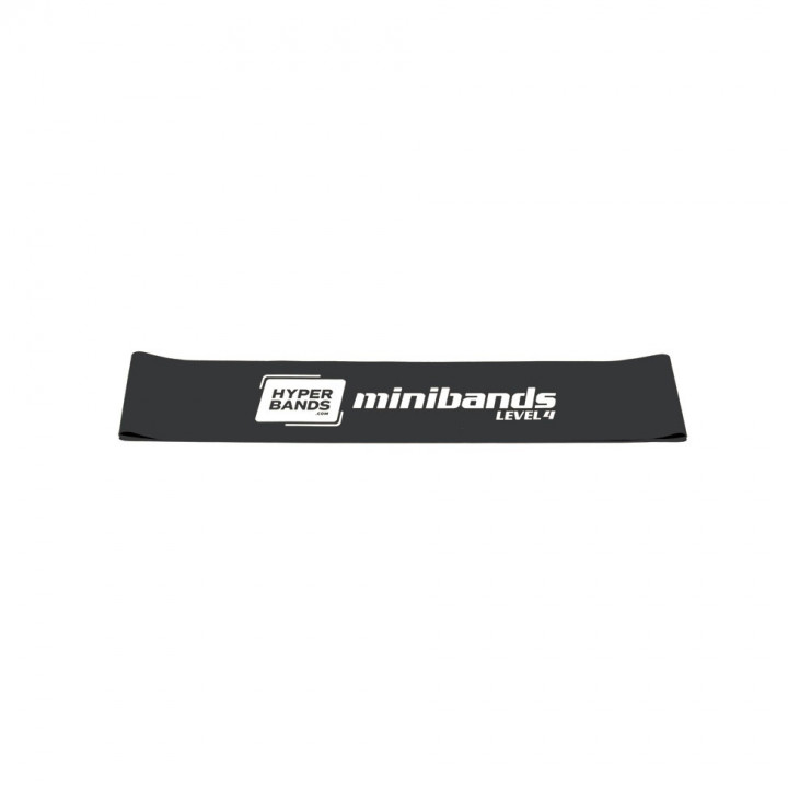 Hyperbands Minibands - Very Heavy (Black)
