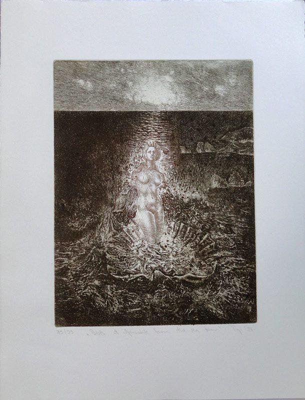 Birth of Aphrodite - 32x24cm