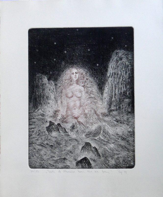 Aphrodita - 31.8x24cm