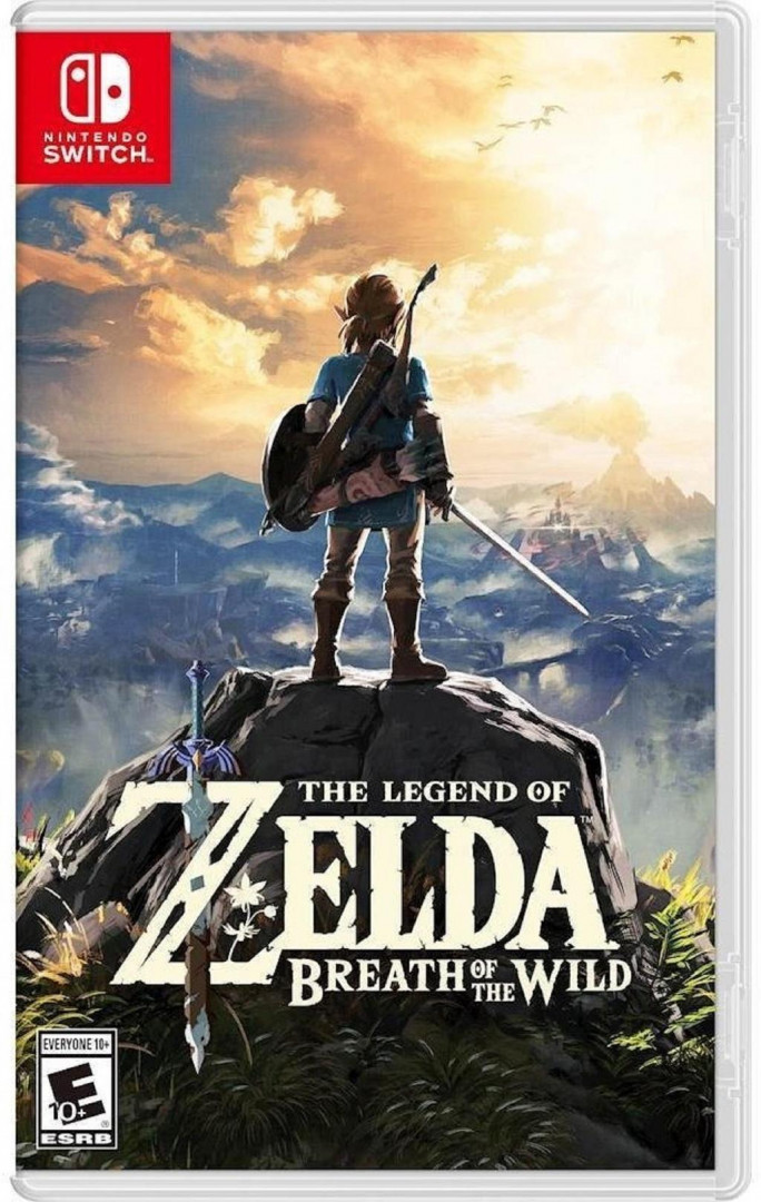 The Legend Of Zelda : Breath Of The Wild ( NS )