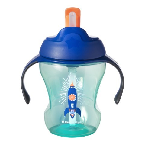 TOMMEE TIPPEE EASY DRINK STRAW BOY 6M+