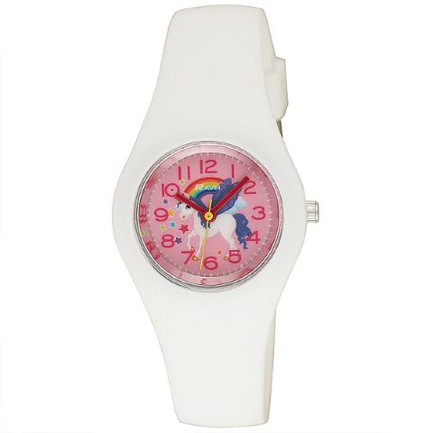 Ravel-Kid's silicone Unicorn Watch - White -  31mm