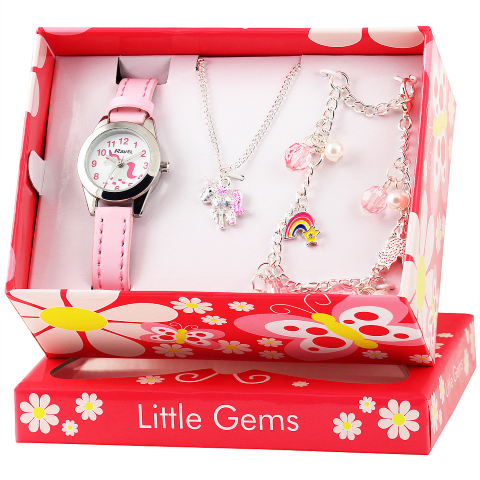 Little Gems Gift Set - Unicorn - Pink - 24mm