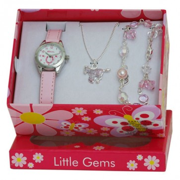 Little Gems Gift Set - Pony - Pink - 24mm