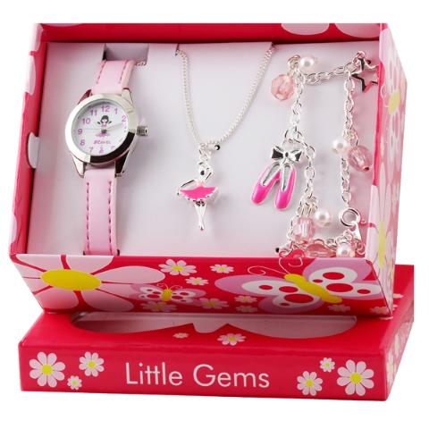 Little Gems Gift Set - Ballerina - Pink - 24mm