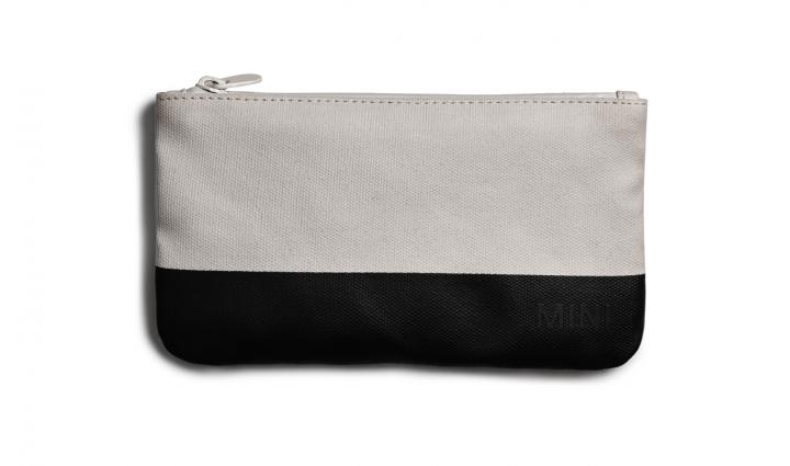 MINI Pouch Small Colour Block - White/Black