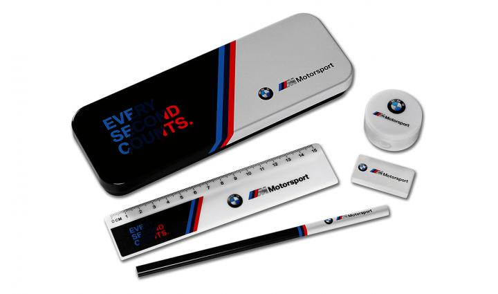 BMW M Motorsport writing set children