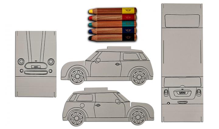 MINI Colouring Car Set