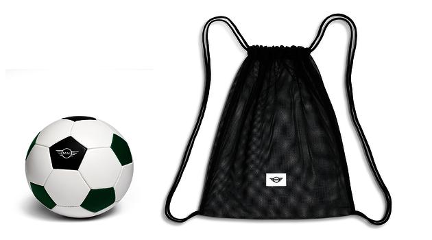 MINI Football ball - Green/White
