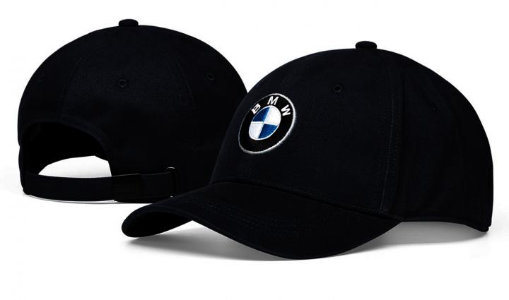 BMW cap logo  - Navy Blue