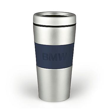 BMW thermo mug logo - Silver/Blue