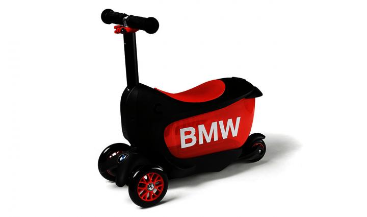 BMW Kids Scooter - Black/orange