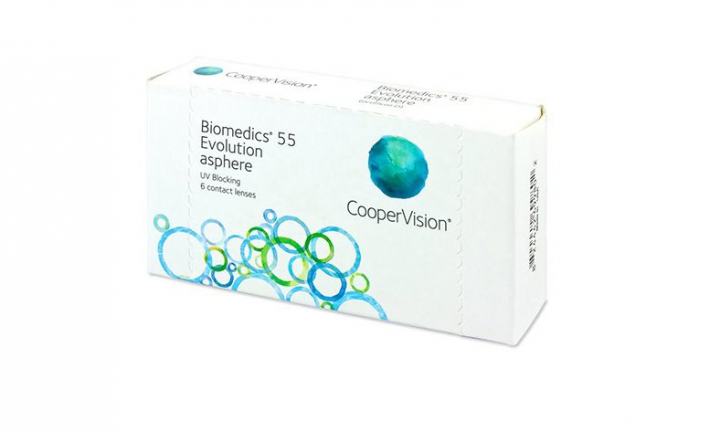 Biomedics55 (6 Lenses)  -3.5