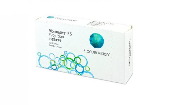 Biomedics55 (6 Lenses)  -4.25