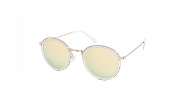 Polar Hudson - Gold White/Champagne Mirror - 48