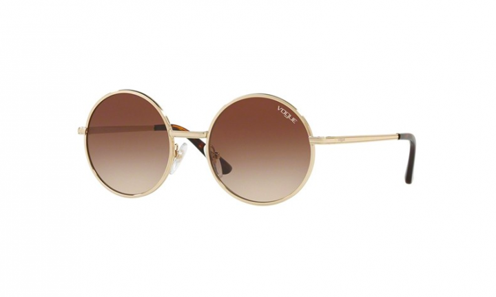 Vogue 4085S - Light Gold/Brown Shaded - 50