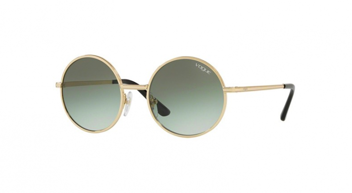Vogue 4085S - Pale Gold/Green Shaded - 50
