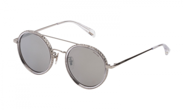 Police Spl 830 - Silver/Silver Mirror - 51