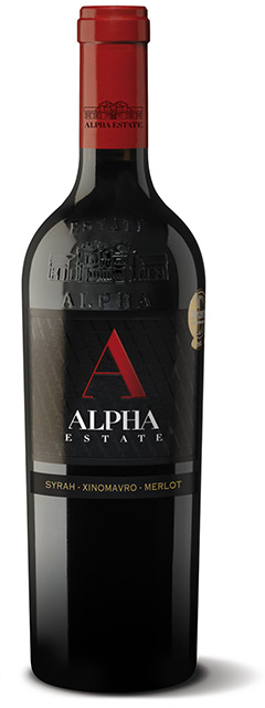 ALPHA ESTATE RED - RED - 75CL