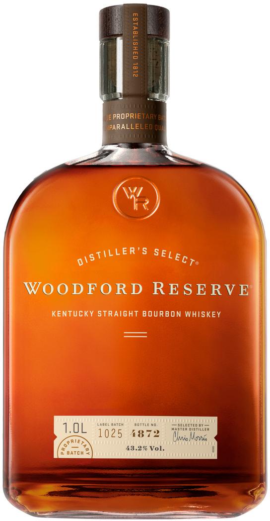 WOODFORD RESERVE - BOURBON - 70CL