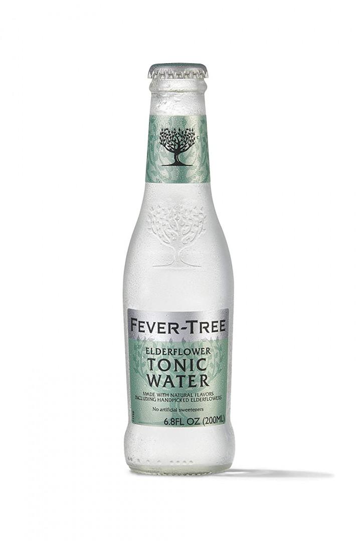 FEVER TREE ELDERFLOWER TONIC - 200ML (24PCS)
