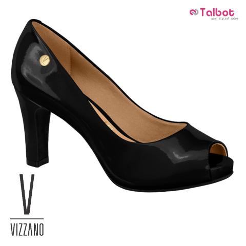 VIZZANO 1840.100 - Black Loustrini- Size 38