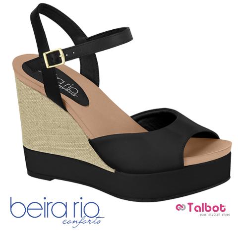 BEIRA RIO 8406.202 - Black- Size 41