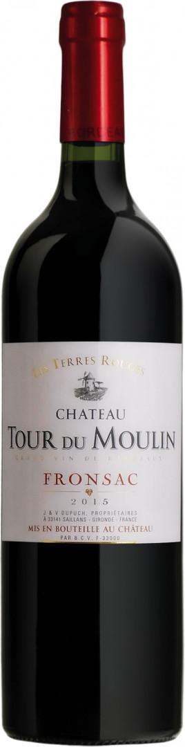 """Ch. Tour du Moulin """"Les Terres Rouges"""" - Red - 75cl"""
