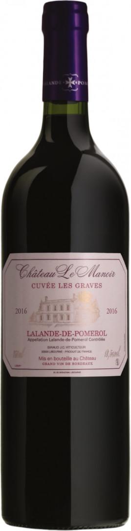 """Ch. Le Manoir """"Cuvée les Graves"""" - Red - 75cl"""