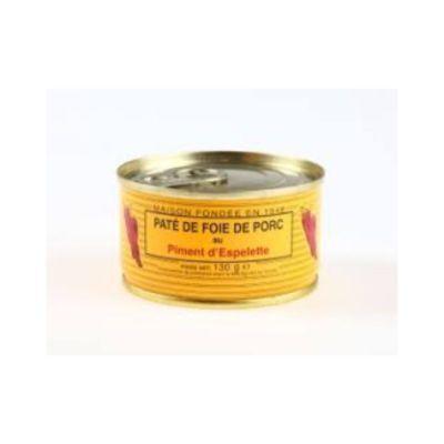 Pork Liver Pate - Espelette pepper - 130g