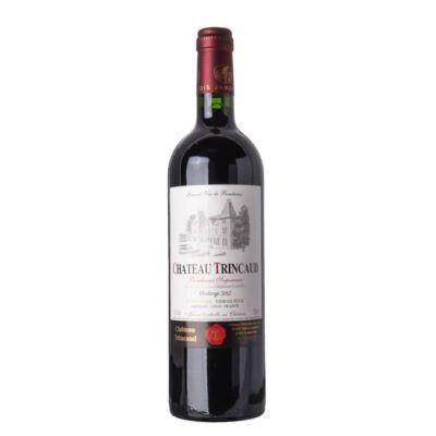Bordeaux Superieur AOC Château Trincaud 2018 - 75 cL