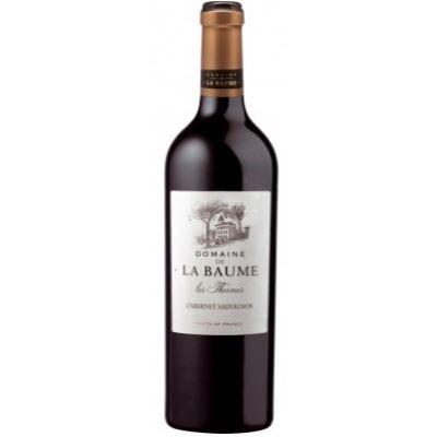 """Cabernet Sauvignon Pays d`Oc IGP Domaine de La Baume """"Les Thermes""""- 75 cL"""