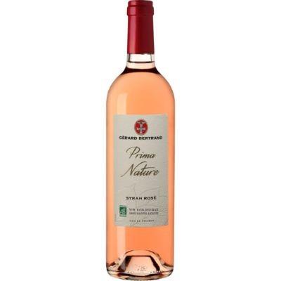 Rosé Syrah IGP Pays D'Oc  Prima Nature - 75 cL