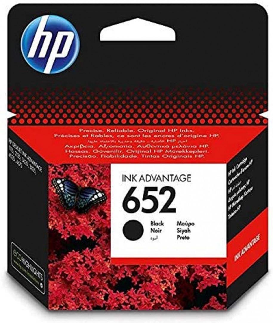 HP 652 Black  - Ink