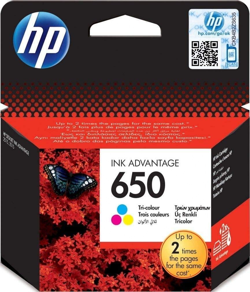 HP 650 Tricolour - Ink