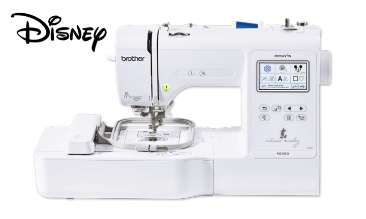 Brother NV-M240ED - Compact and Lightweight -  Electronic embroidery machine