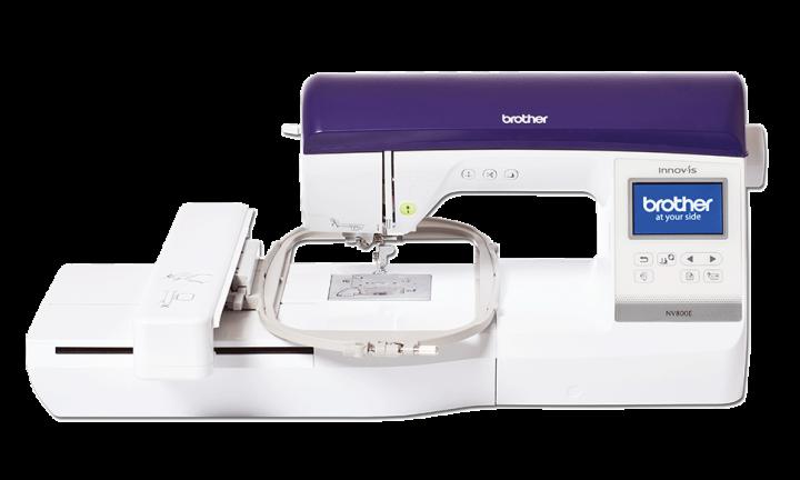 Brother NV-800E - Medium size -  Electronic embroidery machine