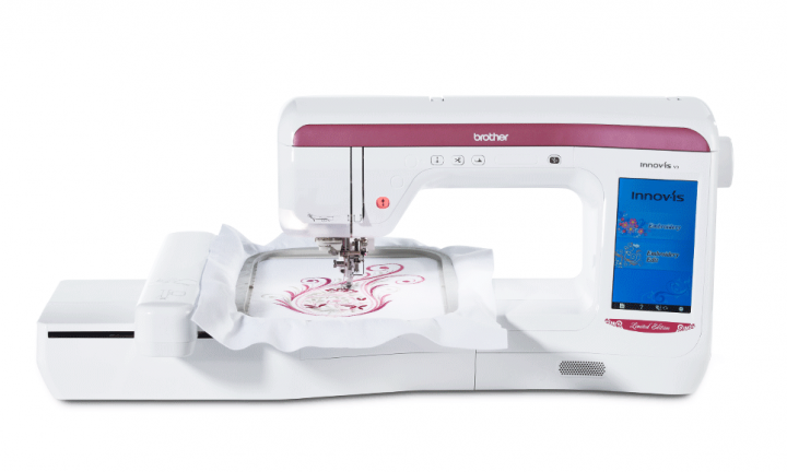 Brother NV-V3LE - Large size -  Electronic embroidery machine