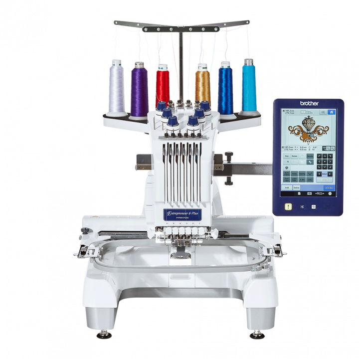 Brother PR670e - Small Business Embroidery machines
