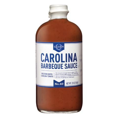 Lillie's Q Carolina BBQ Sauce - 595gr