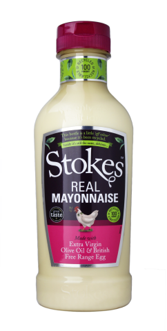 Stokes Real Mayonnaise Squeezy - 420ml