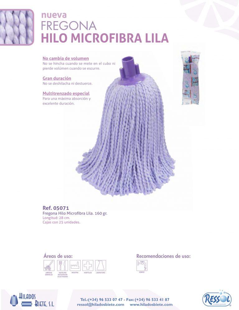 Φλόκκος με νήμα από Μικροϊνες - Microfibre socket mop - Λιλά/ Violeti - 160gr./28cm