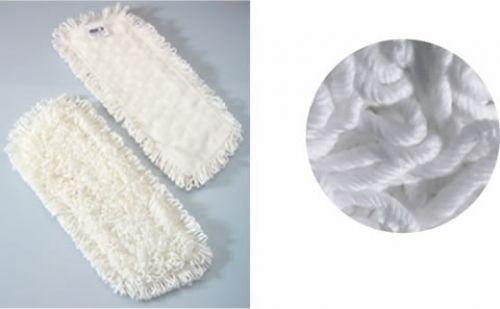 Παρκετέζα (ανταλακτικό ) από Μικροϊνες / Microfiber Dry Mop Refill *String Closure* - Άσπρο/  White -  60 cm